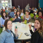 "UT-UCS teachers at the annual ""Teach and Share"" professional development day."