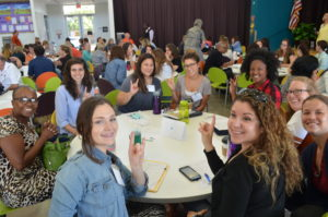 """UT-UCS teachers at the annual """"Teach and Share"""" professional development day."""