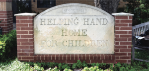 Helping Hand Home for Children sign