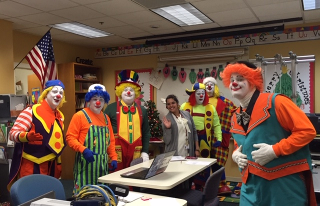 Clowns in the classroom