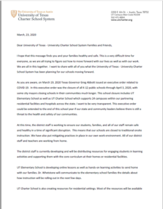 23 Mar 20 Letter page 1