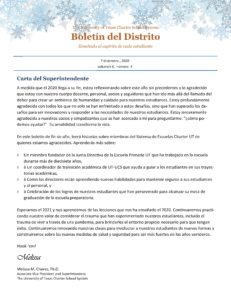 December 2020 district newsletter Spanish