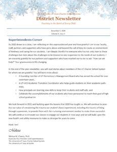 December 2020 District Newsletter English